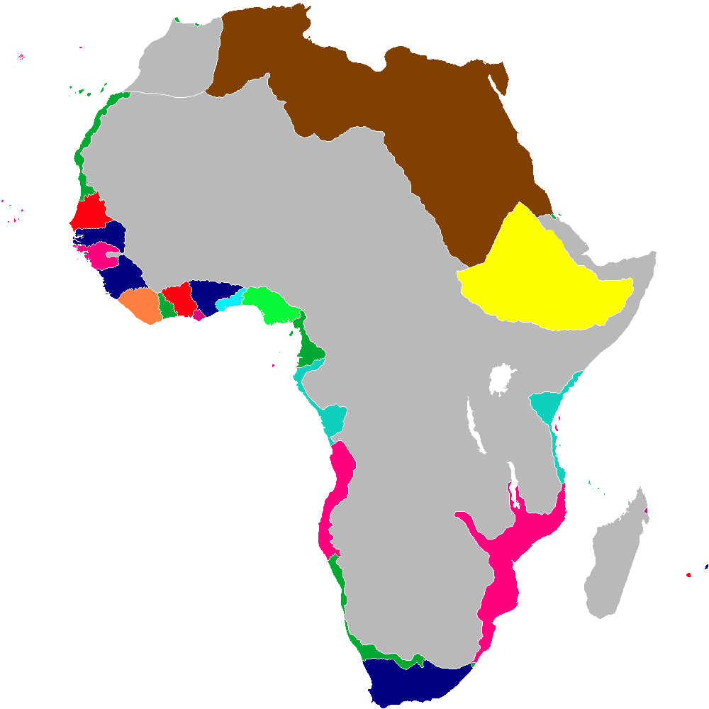 the scramble for africa in the Online textbook for vern cleary's modern world history class at bellarmine college preparatory in san jose, ca.