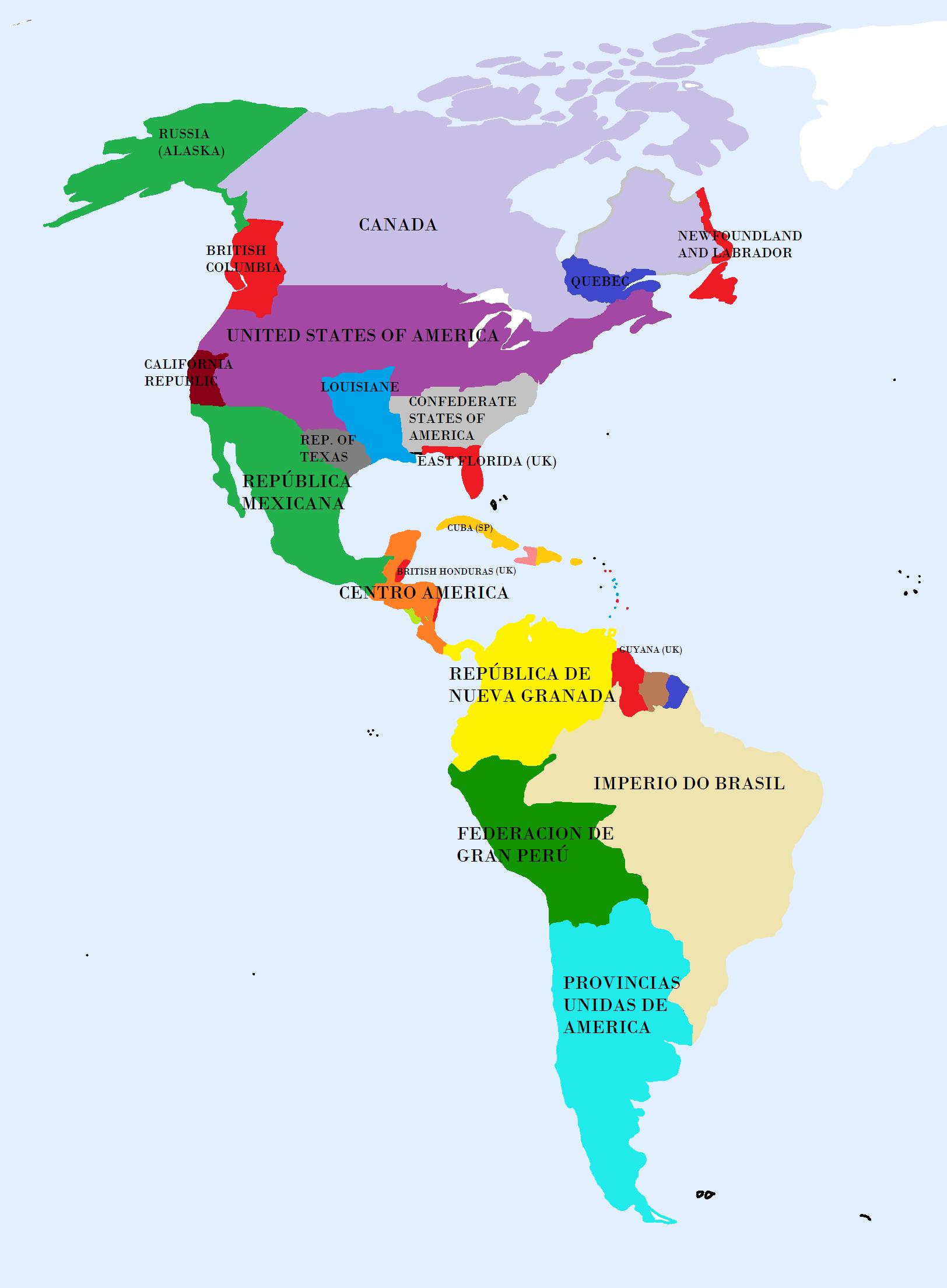Imagenes de el mapa de america