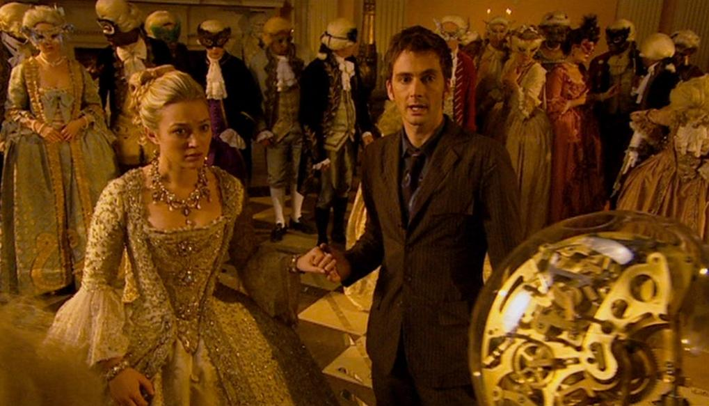 The girl in the fireplace tv story tardis data core the doctor