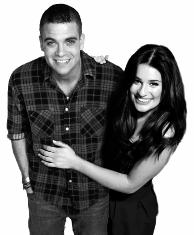 Mark salling dating lea michele