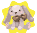 Classy Bunny Plushie