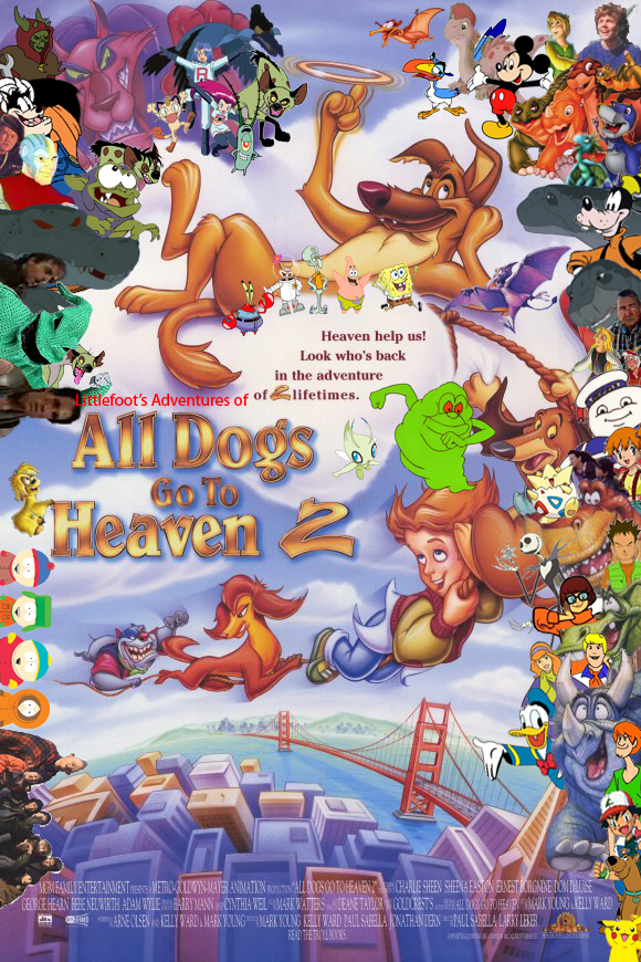 Littlefoot S Adventures Of All Dogs Go To Heaven