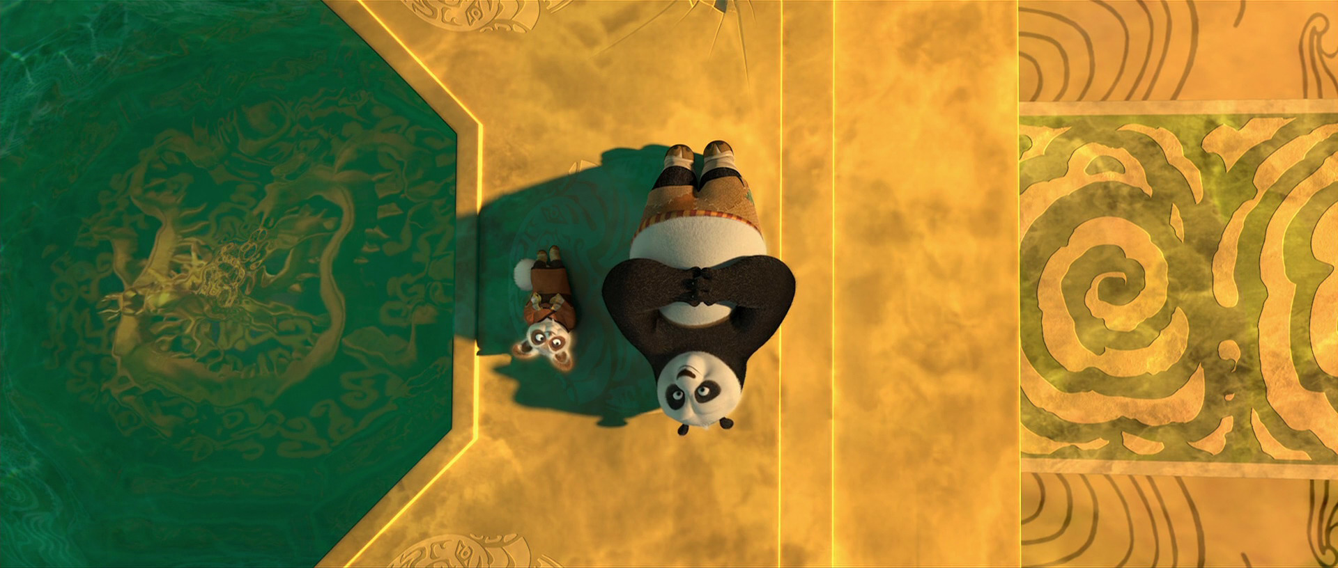 Po and shifu at peace - Kung fu panda shifu ...