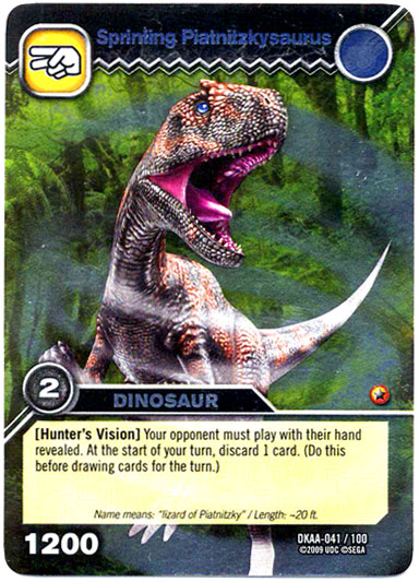 Piatnitzkysaurus-Sprinting TCG Card jpgDinosaur King Megalosaurus Card