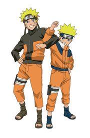 Naruto obie części