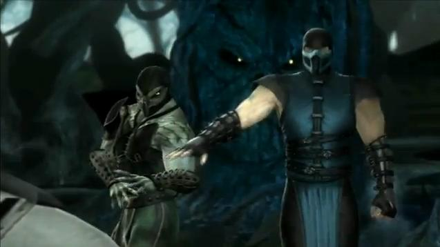 Image - Smoke vs Shang Tsung and Reptile.jpg - The Mortal ...