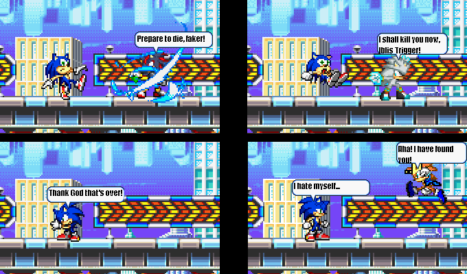 Sonic Hedgehog Dies Sonic Hedgehog Die