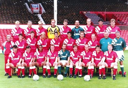 Sezona 1992/93 (Champions League, UEFA Cup, Cup Winner's Cup) LiverpoolSquad1991-1992