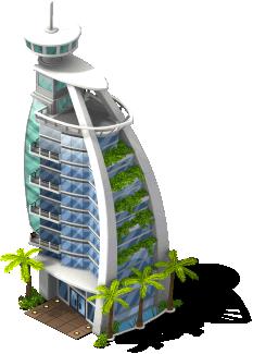Sailboat hotel cityville wikia for Sailboat hotel dubai