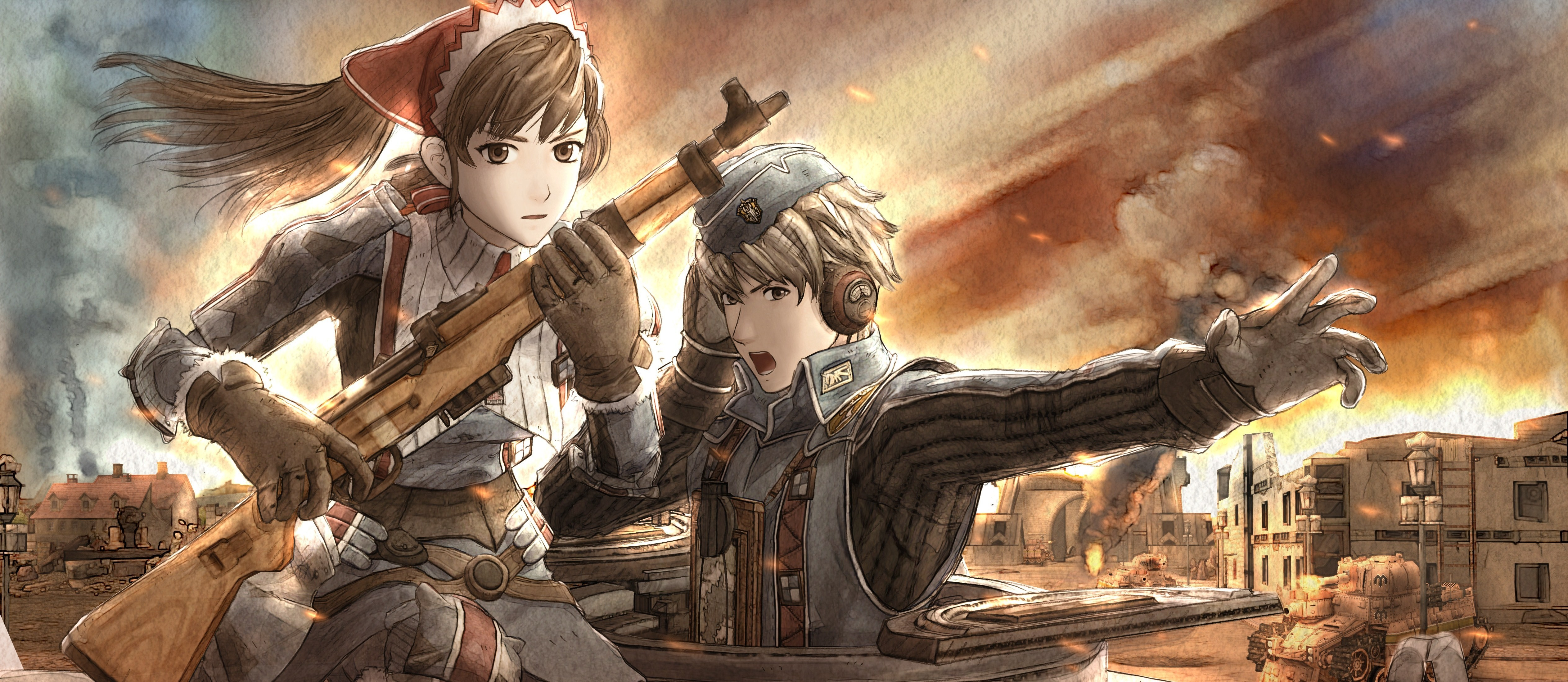 Valkyria Chronicles Wallpaper - Valkyria Chronicles PC Release Date Announced