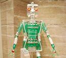 Robô de garrafas pets