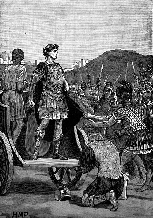 Julius Caesar In Battle Image - Pictures-julius-caesar