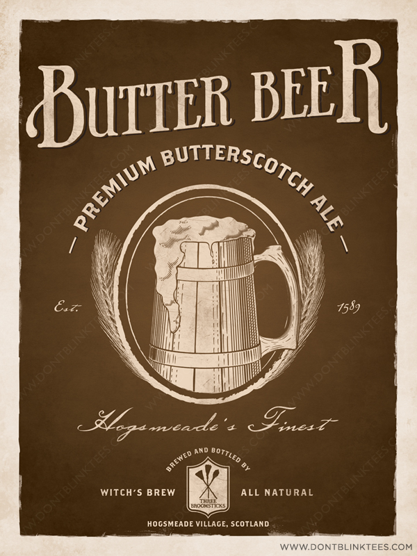 Harry Potter Butterbeer Logo
