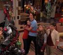 Ein Schrottbaum zu Weihnachten