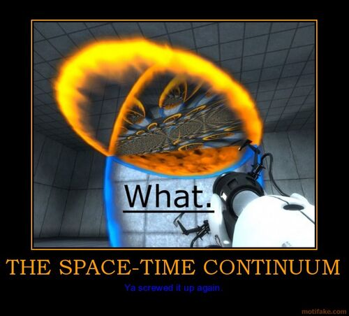Image space time half life wiki for Space time continuum explained