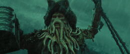 who played davy jones in pirates of the caribbean