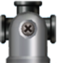 NSMBW Sprite 4-Weg-Kanone.png