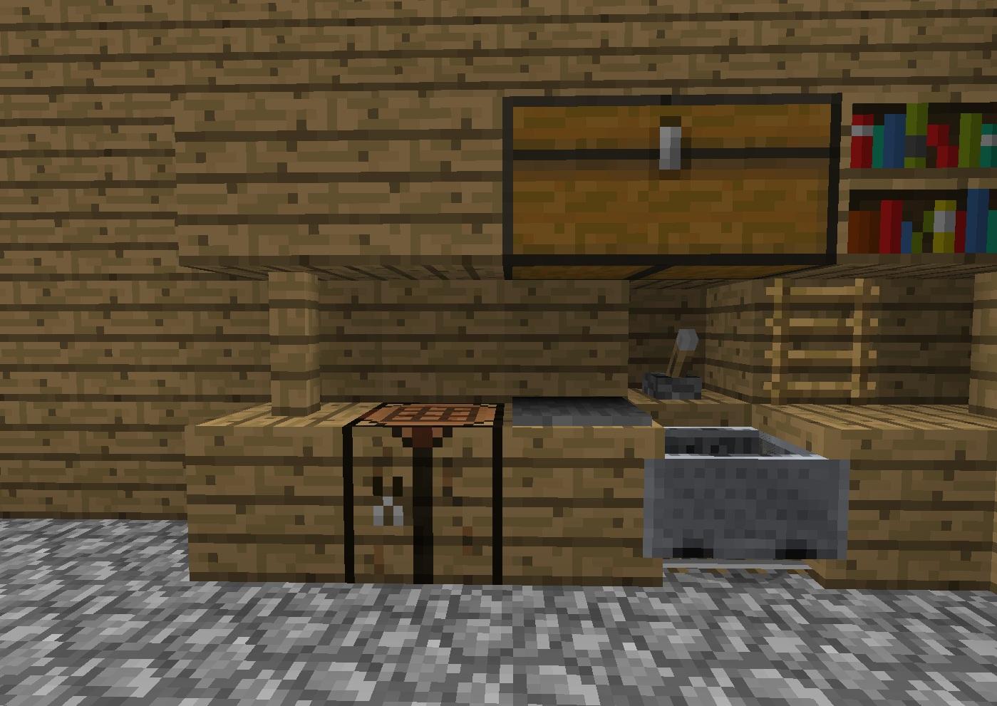 Kitchen minecraftdesign wiki for Kitchen ideas on minecraft