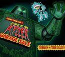 El ataque del asesino de la venta de garaje