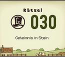 Geheimnis in Stein