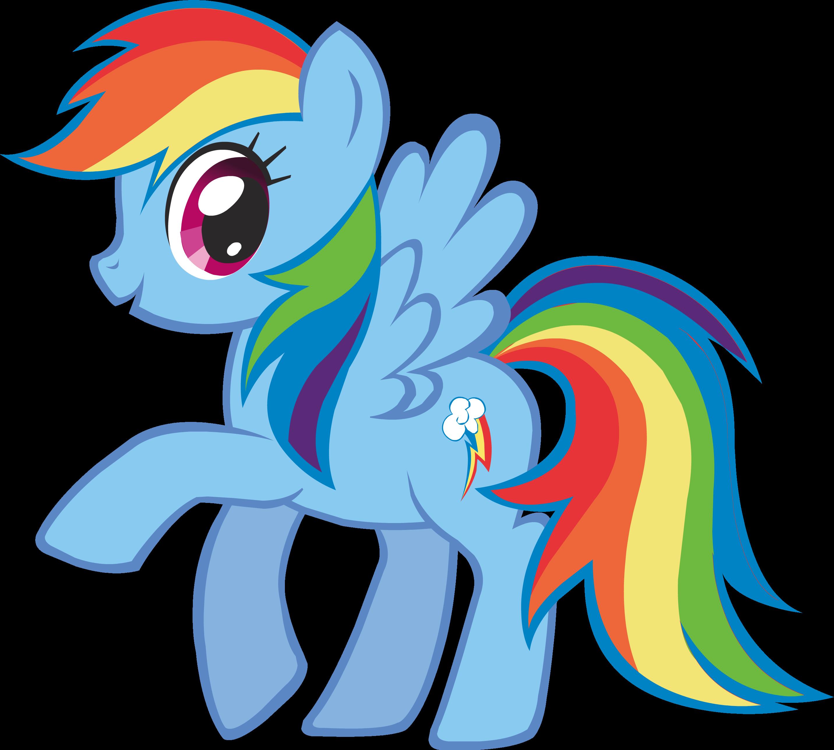 Rainbow Dash My Little Pony Amistad Es Magia Wiki El
