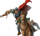 Emissario a cavallo