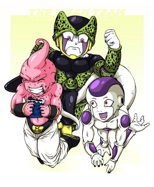 Dragon Ball z Frieza Race Frieza-buu-dragon-ball-z