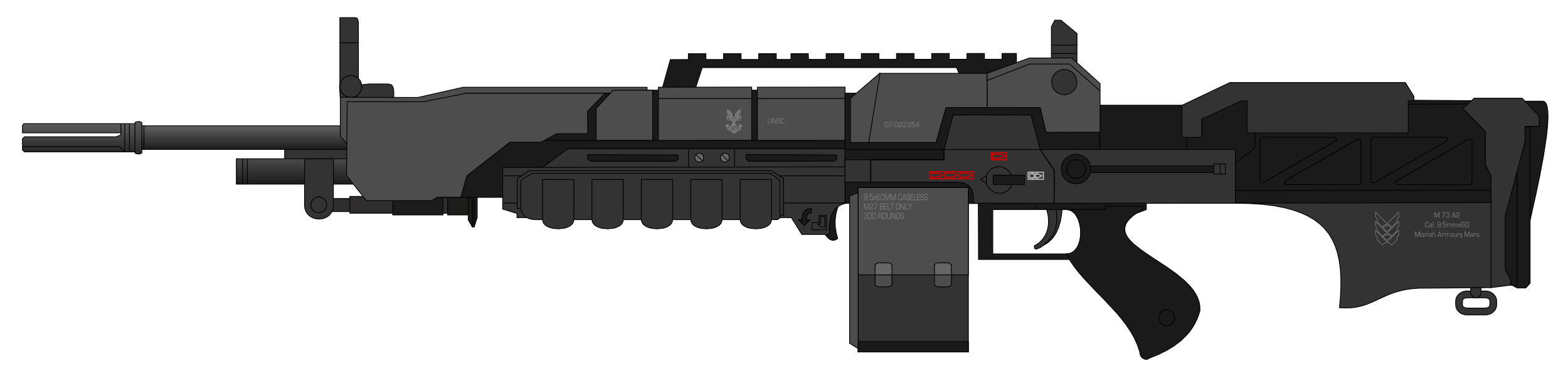 shotgun machine gun
