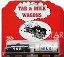 Milk and Tar Wagons