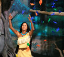Pocahontas and her Forest Friends