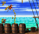 Pirate Panic (Donkey Kong Country 2: Diddy's Kong Quest)