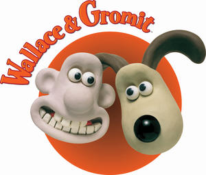 wallace gromit logopedia the logo and branding site. Black Bedroom Furniture Sets. Home Design Ideas