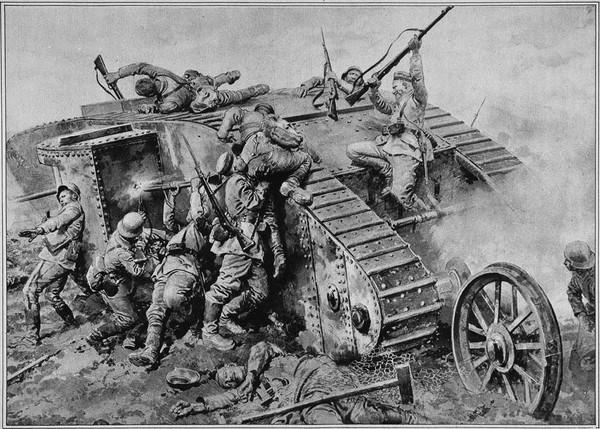 Править танки и бронетехника