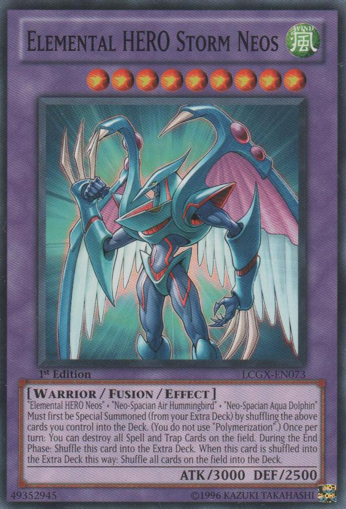 Yugioh Gx Elemental Hero Neos Elemental HERO Storm N...