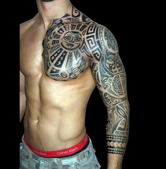 Sick Tribal Tattoos For Men