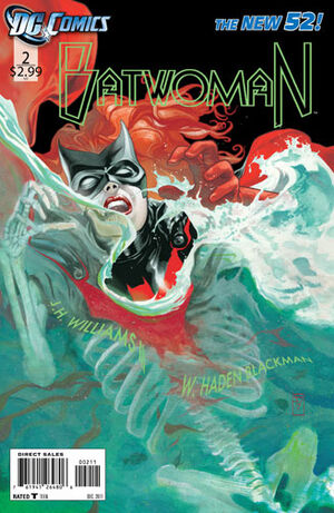 Cover for Batwoman #2 (2011)