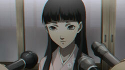 Yukiko as the manager by her family Inn