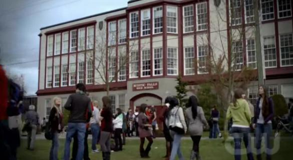 mystic falls high school wiki vampire diaries