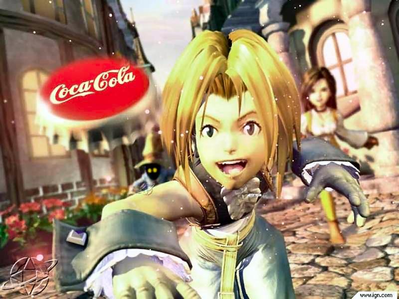 Programa 8x05 'Especial saga 'Final Fantasy' (parte 2) - Página 2 FFIX_coke_commercial