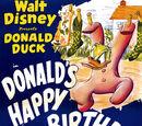 Donald's Happy Birthday