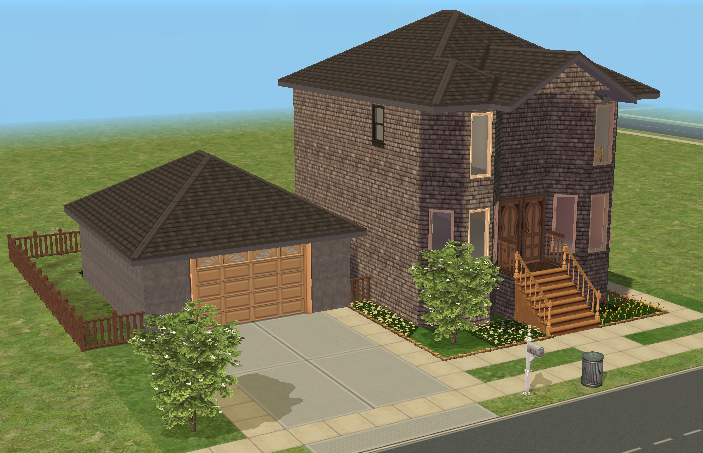 The_Sims_2 on Small House Open Floor Plan