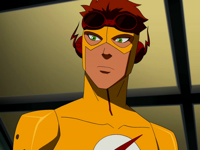 Kid Flash at age 15 Young Justice Kid Flash And Artemis