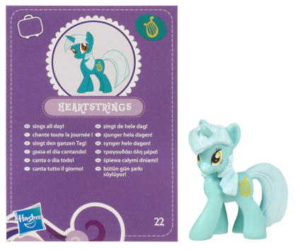Mlp Lyra R34 A mini-figure toy first