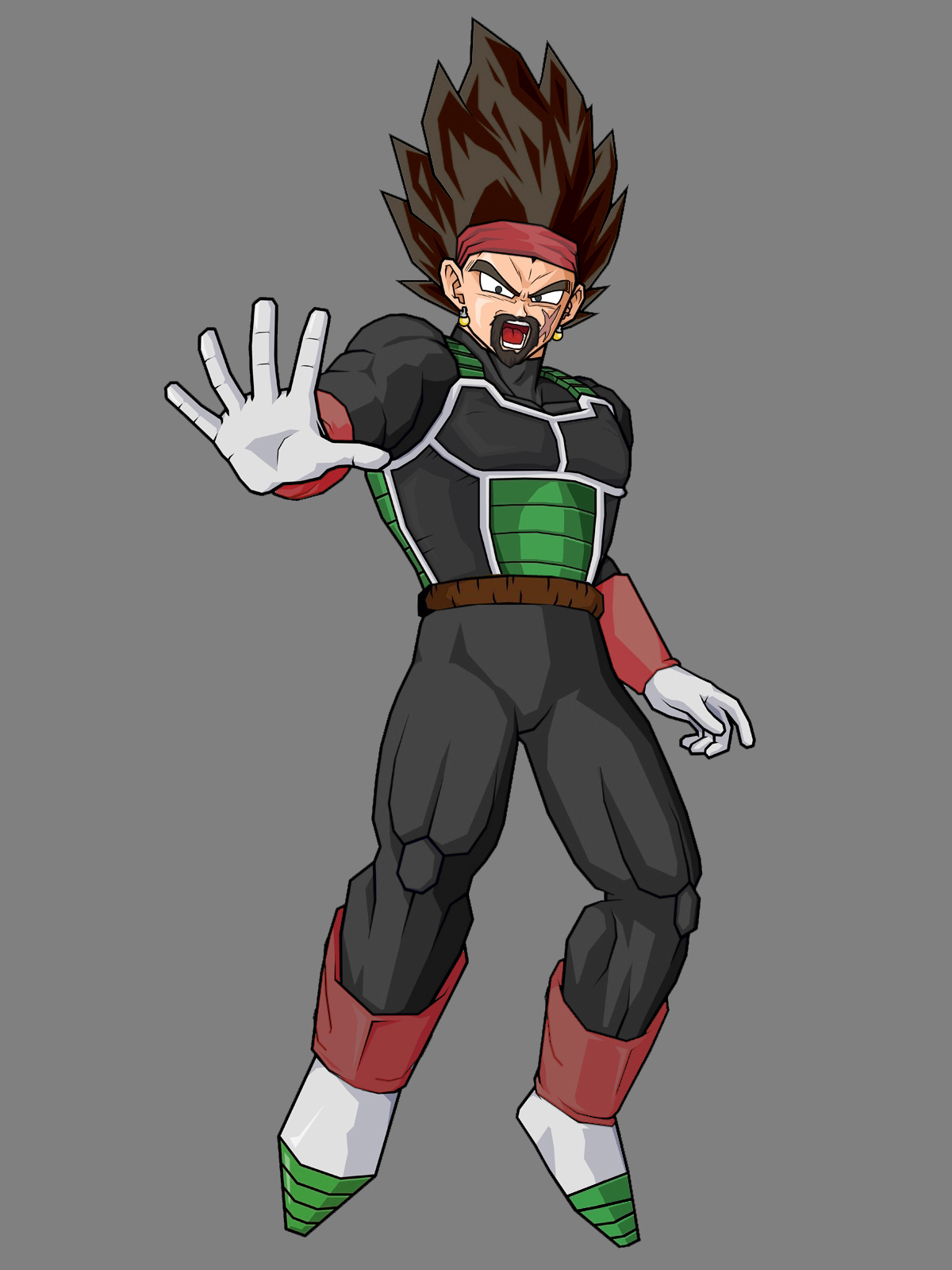 Image - Bardock and king vegeta fusion.jpg - Ultra Dragon ...
