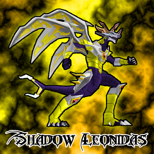 Bakugan Shadow Leonidas Image Haos Shadow Leonidas