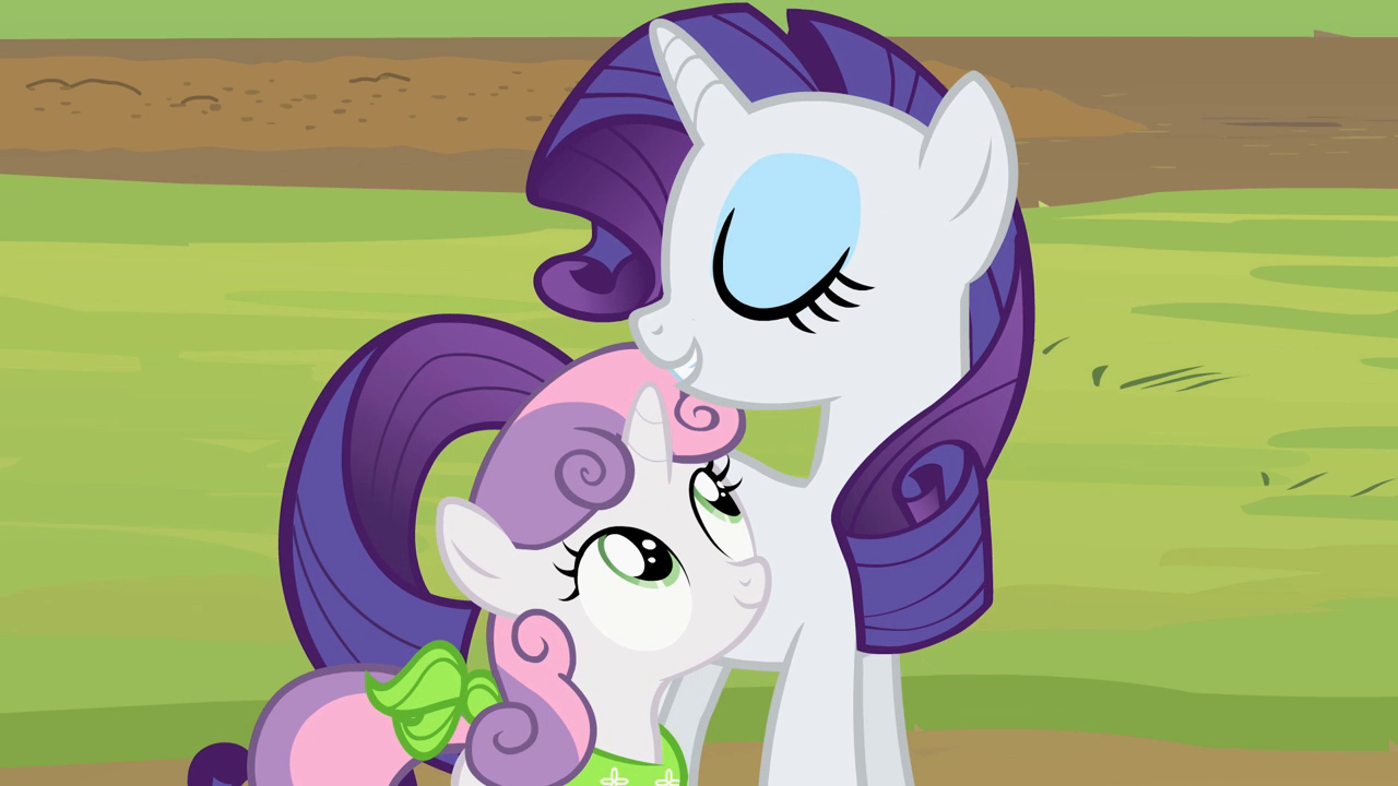 My little pony rarity and sweetie belle - photo#38