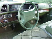 Interior of 1975 Buick Electra