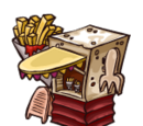 French Fry Booth