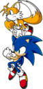 Sonic with Tails pose 4.png