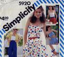 Simplicity 5920 B